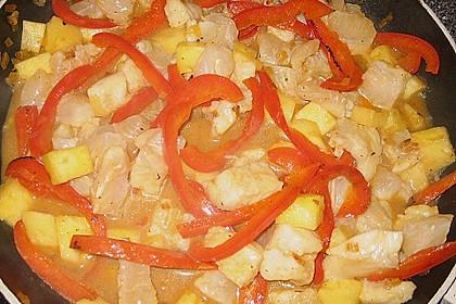 Fruchtiges Asia - Fisch - Curry 37