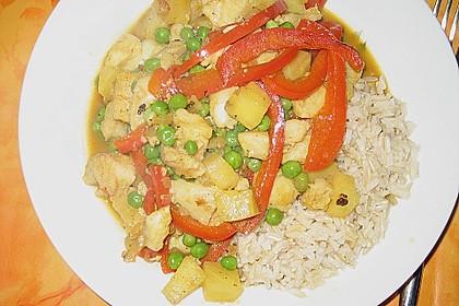 Fruchtiges Asia - Fisch - Curry 22