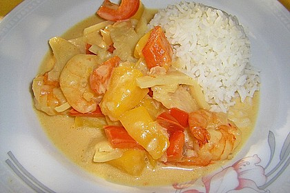 Fruchtiges Asia - Fisch - Curry 18