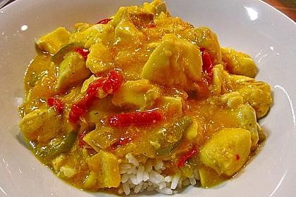 Fruchtiges Asia - Fisch - Curry 2
