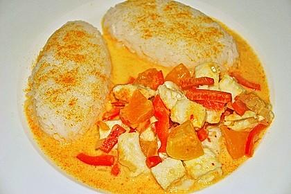 Fruchtiges Asia - Fisch - Curry 23