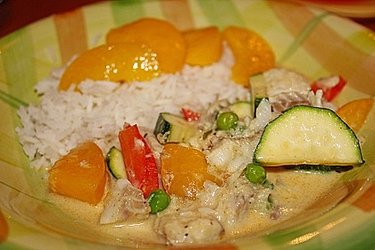 Fruchtiges Asia - Fisch - Curry 12
