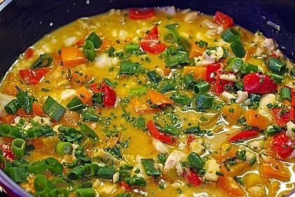 Fruchtiges Asia - Fisch - Curry