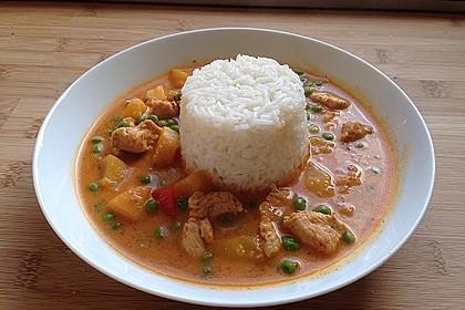 Fruchtiges Asia - Fisch - Curry 3