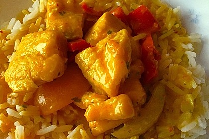 Fruchtiges Asia - Fisch - Curry 29