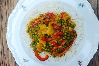Fruchtiges Asia - Fisch - Curry 9