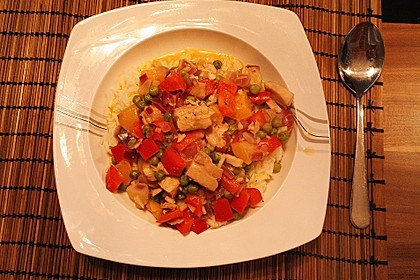 Fruchtiges Asia - Fisch - Curry 20