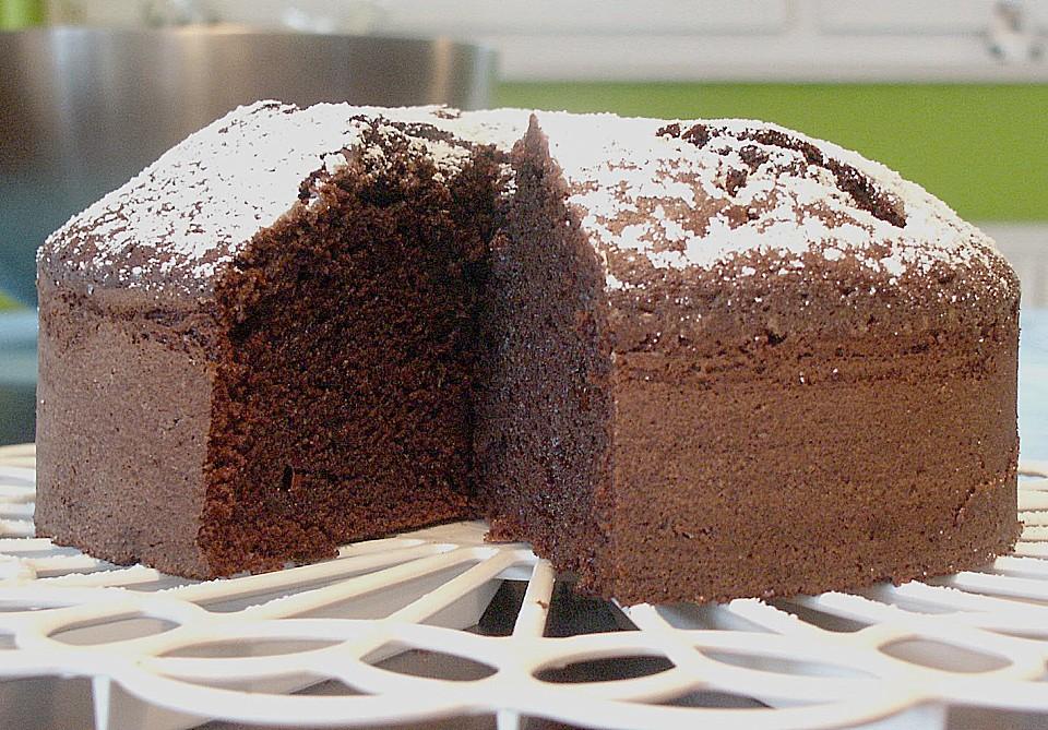 Kleiner Schokoladiger Schokokuchen Mit Schmand Von Urmeli75