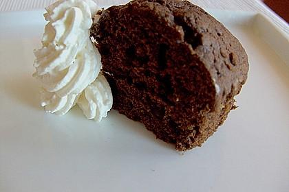 Kleiner schokoladiger Schokokuchen mit Schmand 2