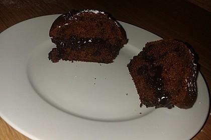 Kleiner schokoladiger Schokokuchen mit Schmand 1