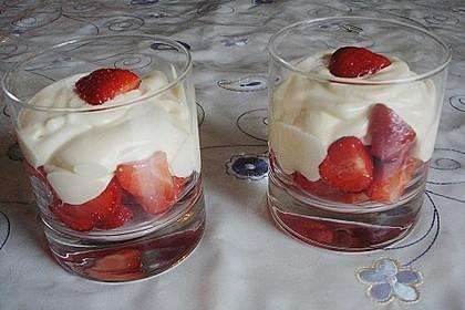 Mascarpone - Dessert mit Erdbeeren 1