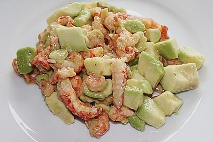 Avocado - Flusskrebs - Salat 10