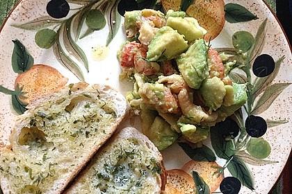 Avocado - Flusskrebs - Salat 11