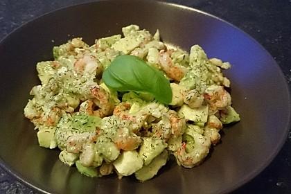 Avocado - Flusskrebs - Salat 2