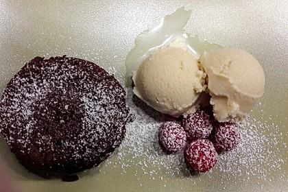 Sformatino - kleiner warmer Schokoladenkuchen