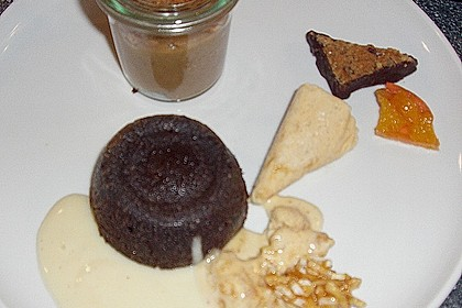 Sformatino - kleiner warmer Schokoladenkuchen 34