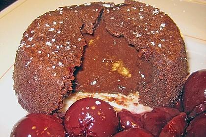 Sformatino - kleiner warmer Schokoladenkuchen 22