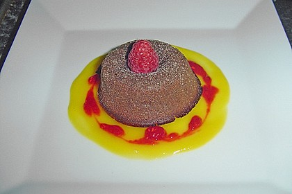 Sformatino - kleiner warmer Schokoladenkuchen 16