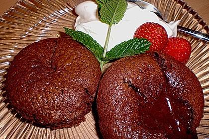 Sformatino - kleiner warmer Schokoladenkuchen 5