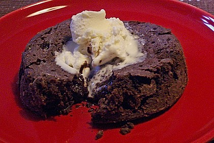 Sformatino - kleiner warmer Schokoladenkuchen 31