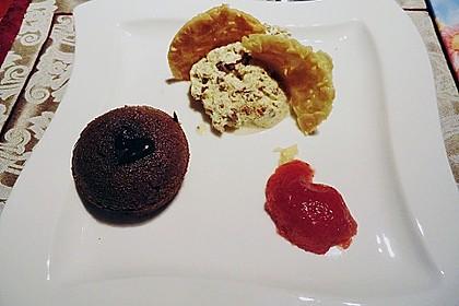 Sformatino - kleiner warmer Schokoladenkuchen 30