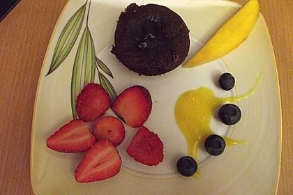 Sformatino - kleiner warmer Schokoladenkuchen 29