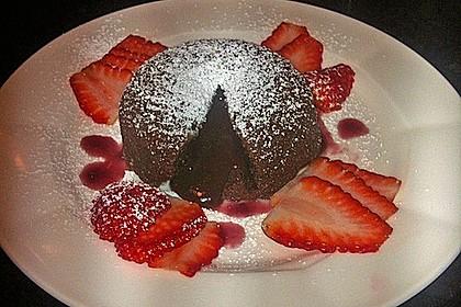 Sformatino - kleiner warmer Schokoladenkuchen 1