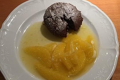 Sformatino - kleiner warmer Schokoladenkuchen 18