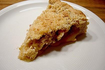 Veganer Apfel - Streusel - Kuchen 17