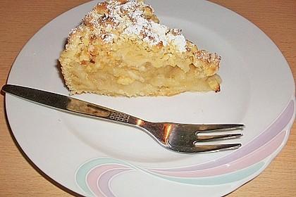 Veganer Apfel - Streusel - Kuchen 6