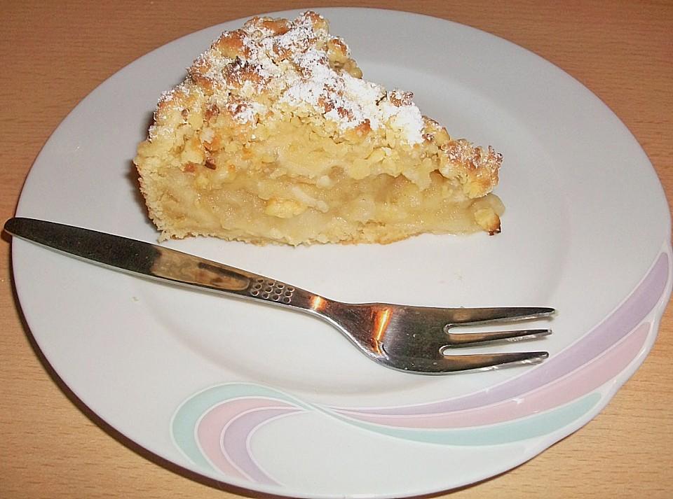 Veganer Apfel Streusel Kuchen Von Arranee Chefkoch