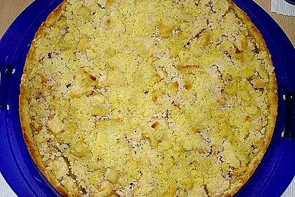 Veganer Apfel - Streusel - Kuchen 24