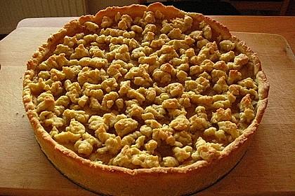 Veganer Apfel - Streusel - Kuchen 5