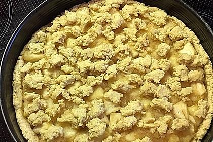 Veganer Apfel - Streusel - Kuchen 22