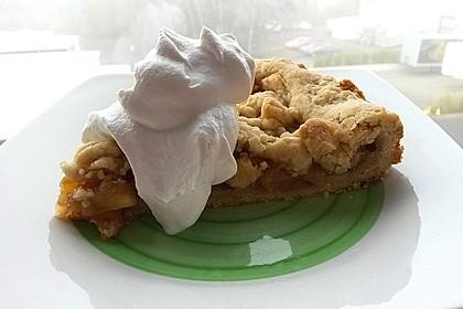 Veganer Apfel - Streusel - Kuchen