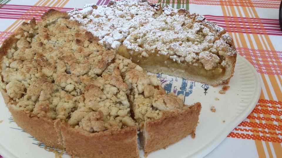Veganer Apfel Streusel Kuchen Von Arranee Chefkoch De