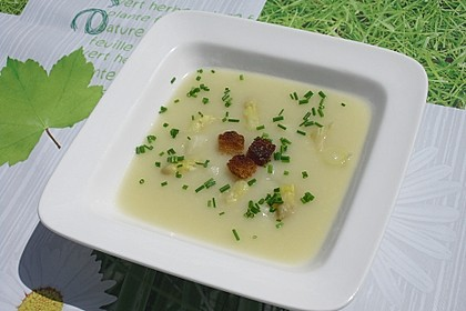 Spargelcremesuppe 8