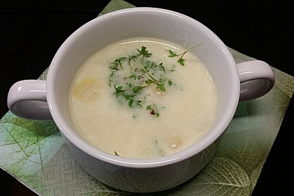 Spargelcremesuppe 22