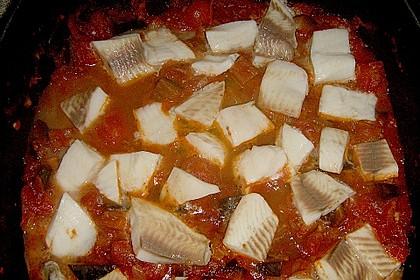 Auberginen - Tomaten - Fisch 3