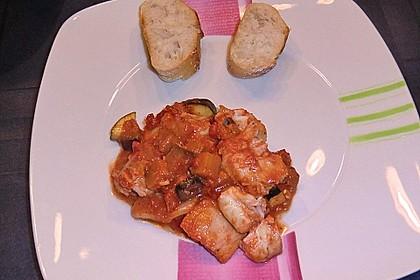 Auberginen - Tomaten - Fisch 1