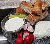 Joghurtsoße zu Backfisch (Bild)