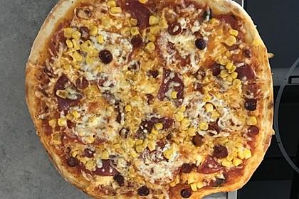 Der beste Pizzateig (Bild)