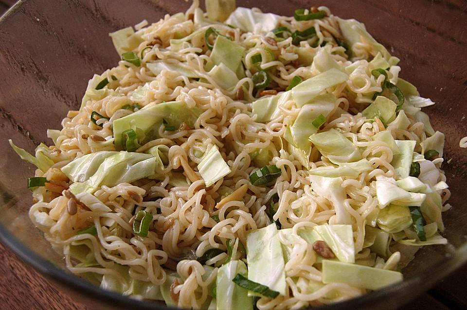 Chinakohlsalat Mit Sonnenblumenkernen Von Schnoesel82 Chefkochde