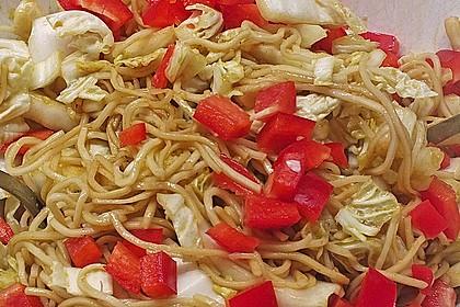 Chinakohlsalat mit Sonnenblumenkernen 2