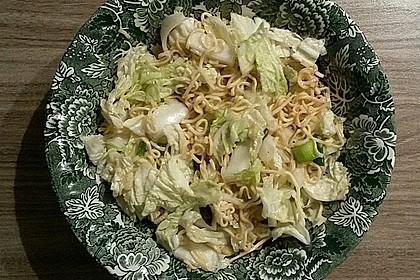 Chinakohlsalat mit Sonnenblumenkernen 1