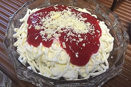 Spaghetti-Eis Dessert 8