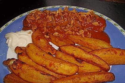 Currywurst mit Pommes 18