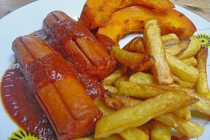 Currywurst mit Pommes 20