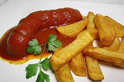 Currywurst mit Pommes 5