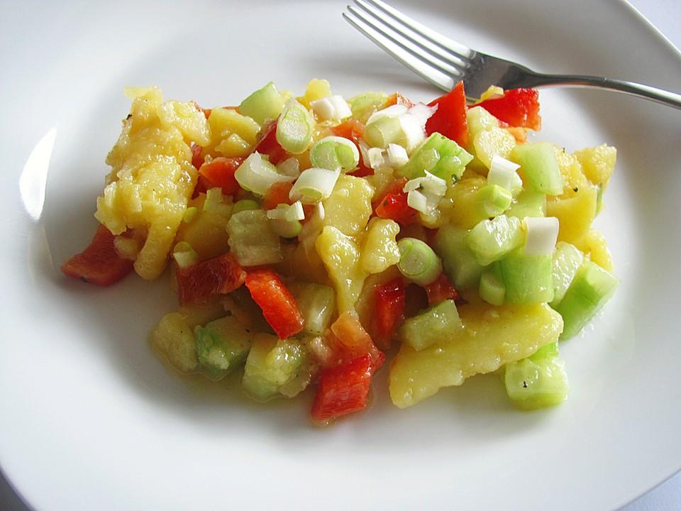 Kartoffelsalat Mit Essig Und öl Von Falkin Chefkoch